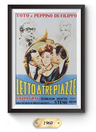 Letto a tre piazze (1960)